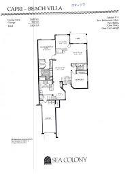 Belvedere Floor Plan Sea Colony Floor Plans Sea Colony Jupiter Florida