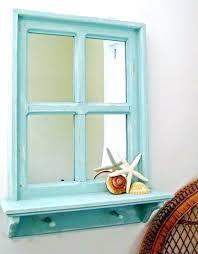 nautical mirror bathroom blue wall mirror gruposorna com
