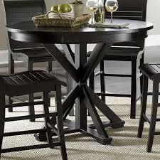 progressive furniture willow counter height dining table progressive furniture willow dining distressed finish round counter