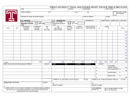 Quarterly Expense Report Templa by Expense Report Example Free Fill In Resume Template Emergency