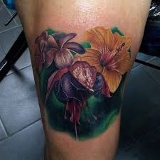 Male Flower Tattoos - 24 best real life flower tattoos images on pinterest flower