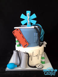 emt paramedic inspired cake by a little imagination cakes