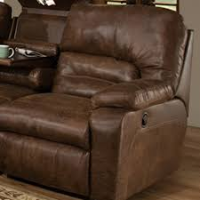 Rocking Reclining Loveseat With Console Dakota Collection