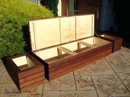 outdoor storage bench seat benches outdoor storage bench seat