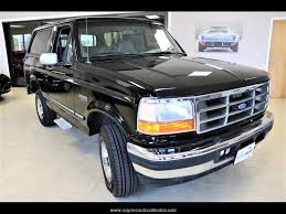 bronco car 1996 1996 ford bronco xlt for sale in fort myers fl stock a66219