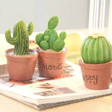 aliexpress com buy zakka cactus small resin decoration tropical