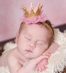 headband baby baby princess crown headband baby bling elastic headwear newborn