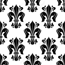 what is floral pattern in french victorian seamless floral pattern with royal french fleur de lis