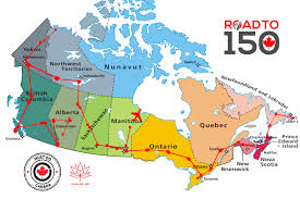 road map canada canada road to 150 best things to do canada must do canada