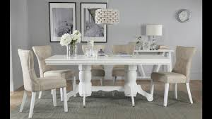 White Wood Dining Room Table by Chatsworth White Wood Extending Dining Table By Furniture Choice