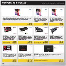 best desktop black friday deals 2017 newegg black friday ads sales deals doorbusters 2016 2017
