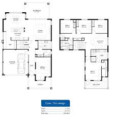 Floor Plan For 2 Storey House Two Storey Home Designs Apg Homes Sweet Home Pinterest