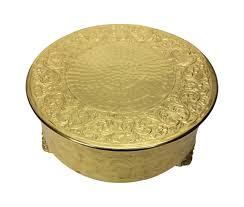 14 cake stand giftbay csg74314 wedding cake stand 14 inch aluminum gold finish