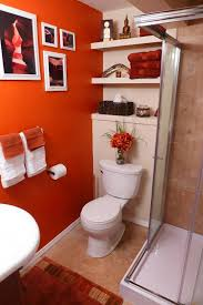 orange bathroom decorating ideas home design ideas