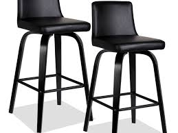 Furniture Cozy Ikea Kitchen Stools by Kitchen Chairs Exquisite Black Faux Leather Counter Height