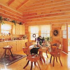 homes interiors log cabin homes kits interior photo gallery