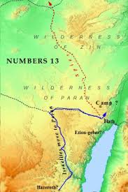 middle east map moses time testament bible maps