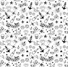 tattoos pattern by msmoloko graphicriver