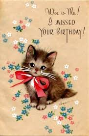 happy birthday kittens with a rose birthday cats pinterest