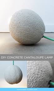 Home Made Modern by Homemade Modern Ep85 Concrete Cantaloupe Lamp