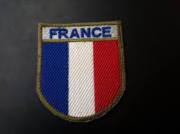 Military Flag Patch France Military Patch France Flag What U0027s It Worth