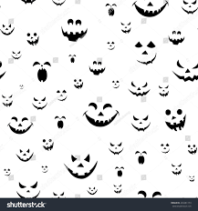 kid halloween background abstract seamless pattern girlsboys kids halloween stock