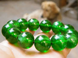 amber bead bracelet images 2013 new hot bi the green amber pine plastic beads bracelet 18mm jpg