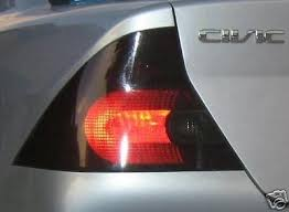 2001 honda civic tail lights 2001 2005 honda civic coupe taillights pre cut tint covers 2001