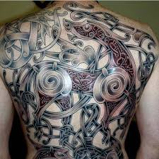 cool vikings tattoos for men on back hugin pinterest tattoos