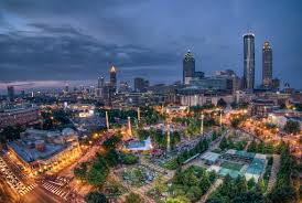 Luxury Van Rental In Atlanta Ga Centennial Park Image1 Jpg