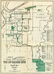 lost in plain sight kansas city s west terrace park squeezeboxcity kansas city park system map kessler 1906 jpeg kessler designed the city s early parks
