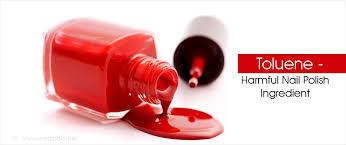 harmful effects of nail polish