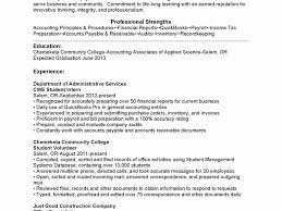 sle internship resume sleesumes for internships college students fresh exle