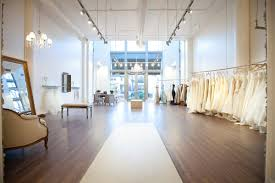 wedding stores this is a bridal stores interior it is vet simple and clean