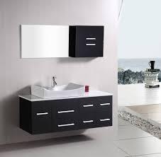 Bathroom Vanities 18 Inches Deep by Bathroom Modern Walnut Bathroom Vanity 60 Inch Double Sink