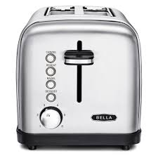 Kitchenaid Toaster Kmt2115cu Bella Classics 2 Slice Stainless Steel Toaster Bla14466 The Home