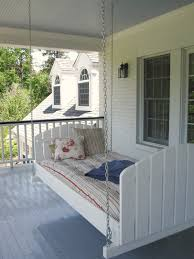 front porch swing bed karenefoley porch and chimney ever