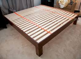 King Size Bed Frame Diy Diy Built King Sized Wood Platform Bed See Post For