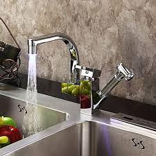lavabo pour cuisine robinet led pour cuisine salle de bain robinetterie mitigeur