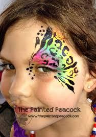 rainbow tiger painting found on thepaintedpeacock com