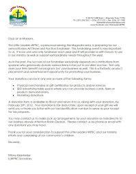 letter fundraising