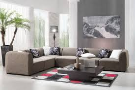 Living Room Accessories Brown Grey Living Room Decor Brown Cushions Black Leather Sofa Light