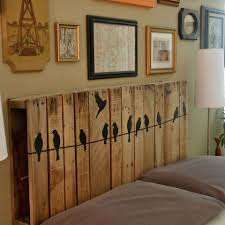 Headboard Made From Pallets Creative Things Made From Pallets 70 Incredible Ideas
