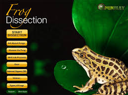 virtual frog dissection educational ipad app