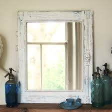 Custom Mirror Custom Mirror Made Out Of An Antique French Window Frame