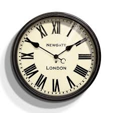 buy newgate clocks the battersby wall clock large amara