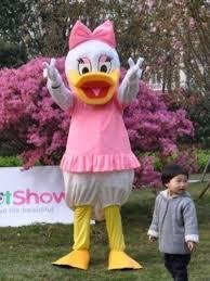 Mascot Costumes Halloween Daisy Duck Mascot Costume Daisy Duck Costumes