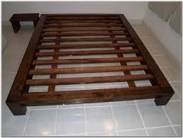 Raised Platform Bed King Bed Frame With Storage Tags King Bed Frame Diy Platform Bed