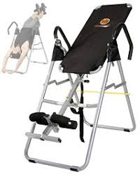 body power health and fitness inversion table body power it9910 deluxe seated inversion system best exercise