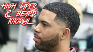 soccer haircut steps high taper beard haircut tutorial with ripples on top youtube